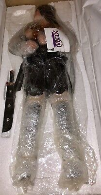 "XENA Warrior Princess 24"" Porcelain Doll Lucy Lawless by George Harlan MIP NIB"