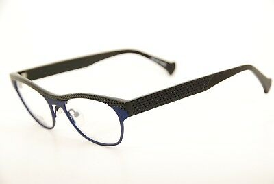 New Authentic Volte Face Paris 0020 Emma Blue/Black 52mm Frames Eyeglasses RX