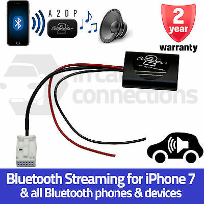 Peugeot Bluetooth Music Streaming Interface Adapter 207 307 308 iPhone RD4 MP3