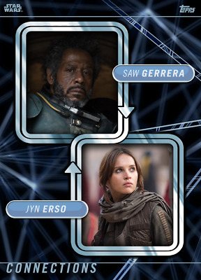 Topps Star Wars Card Trader Connections Mentors & Proteges Marathon Jyn/Saw