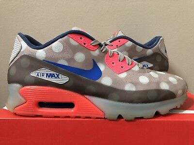 NIKE AIR MAX 90 Ice City QS Polka Dot 667635 001 Size 10 Stone 100% Authentic