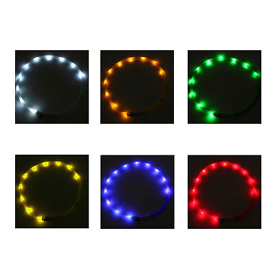 Waterproof Rechargeable USB LED Flashing Light Band Belt Safety Pet Dog Col N8O1
