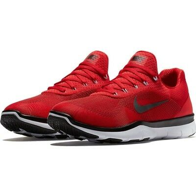 Men's Nike Free Trainer V7 Training Shoes - Red/Black/White - NIB!