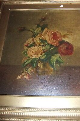 SUPERB RARE oil painting by CHARLES FERDINAND HURTEN. Mid to late 19th century.