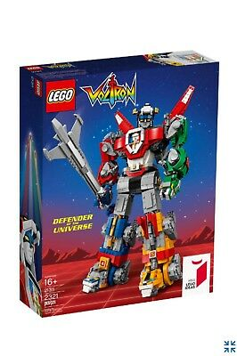 Lego Ideas 21311 Voltron Defender Of The Universe New Sealed Free Shipping