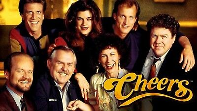 Cheers Tv Show Cast 8X10 Glossy Photo