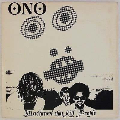 ONO: Machines that Kill People '83 Thermidor Industrial Electronic LP w/ Insert