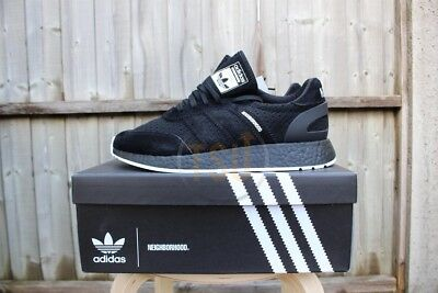 22aae8162 Adidas X Neighborhood Iniki i-5923 UK 9.5 Black Boost NBHD DA8838 NOT NMD