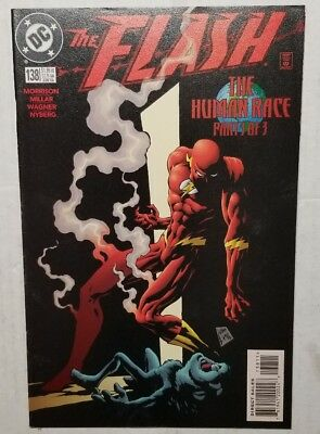 The Flash #138 (1998 DC Comics) First Appearance Of Black Flash Grant Morrison