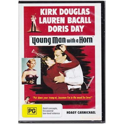 Young man with a horn Kirk Douglas Movie poster print