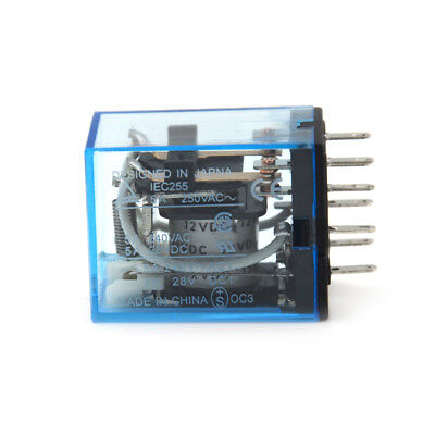 10A 220V 8PIN LY2GX HH62P Electronic Micro Electromagnetic Relay Coil DPDT GX
