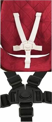 Baby High Chair Safety Strap 5 Point Harness Replacement for Evenflo Convertible