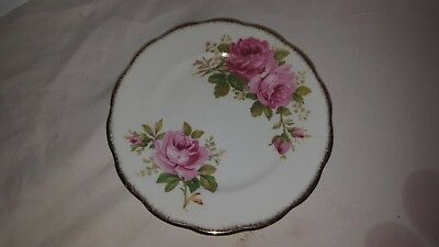 Royal Albert American Beauty Bread And Butter Plate 6 Inch