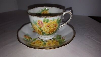 Royal Albert Yellow Tea Rose Teacup And Saucer