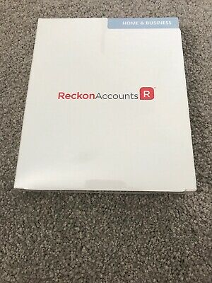Reckon Accounts Home and Business 2016 Box NO SUBSCRIPTION