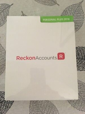Reckon Accounts Personal Plus 2016 No Subscription