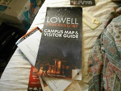 Lowell Observatory Campus Map And Guide Az