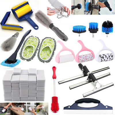 Household Bottle Dust Brushes Cleaner Glass Tube Car Window Squeegee Blade Lot