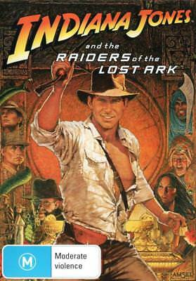 Indiana Jones and the Raiders of the Lost Ark - DVD (NEW & SEALED)