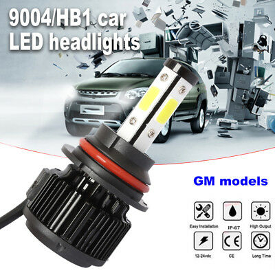 LED Headlight Super Bright 9004/HB1 8000LM 6500K 50W Car Accessories