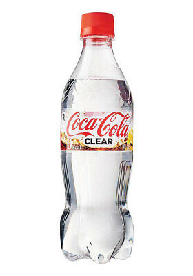 Japanese limited edition COCA COLA/COKE CLEAR fresh from Japan US SELLER!