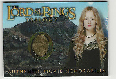 Eowyn's Edoras Stables Dress Lord of the Rings Trilogy Chrome LOTR Costume Card
