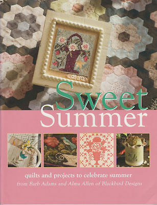 SWEET SUMMER || Embroidery & Quilt Project Book || BLACKBIRD DESIGNS