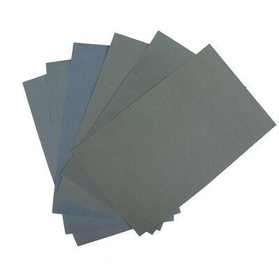 6x Waterproof Abrasive Paper Sand Paper P600/1000/1200/1500/2000/2500 C3V5