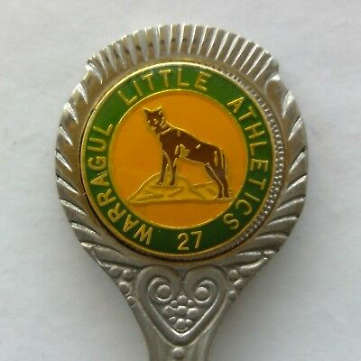Warragul Little Athletics 27 Souvenir Spoon Teaspoon (T173)