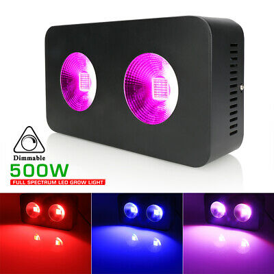 Newest Full Spectrum 500W COB LED Grow Light Lamp For Indoor Plant Growth Bloom