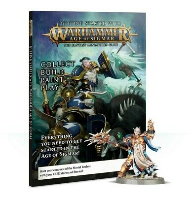 Getting Started With Warhammer: Age Of Sigmar - English Games Workshop New