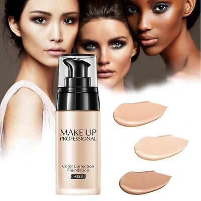 Full Coverage Liquid Foundation Makeup Whitening Waterproof Concealer Cream