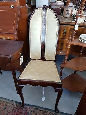 Beautiful tall vintage / antique back chair