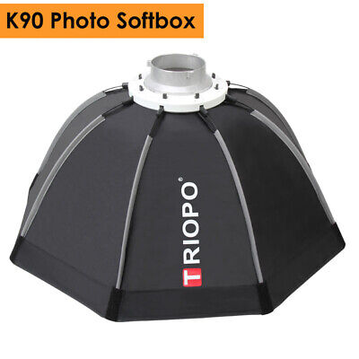 90cm Portable Bowens Mount Octagon Umbrella Softbox + Carrying Bag for Photo