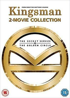 Kingsman - 2-Movie Collection  with Samuel L. Jackson New (DVD  2018)