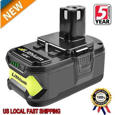 For P108 Ryobi 18V One Plus Max Lithium Ion High Capacity Battery P104 P105 P107