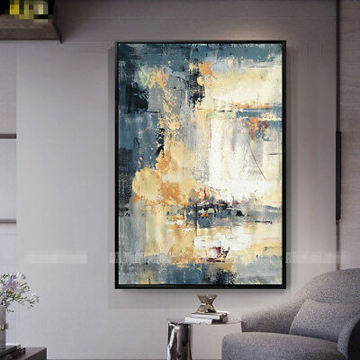 YA#861 Modern Hand-painted Simple abstract decorative oil painting on canvas