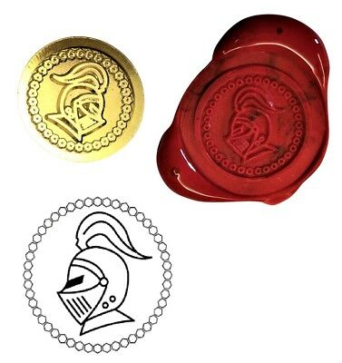 Medieval Knight Wax Stamp Seal Starter Kit or Buy Coin Only XWS039B/XWSC358
