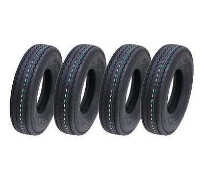 4.80/4.00-8 6ply trailer tyre, 340kg, Wanda P811, road legal tyres, - set of 4 -