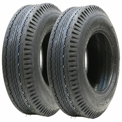 2 - 5.00-10 trailer tyre 4 ply high speed road legal 355kgs 72N