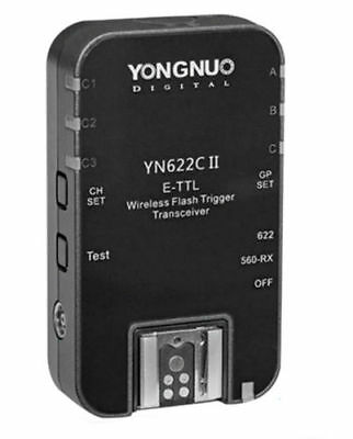 Single Yongnuo Updated YN-622C II HSS TTL Wireless Flash Trigger  for Canon