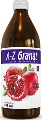 A-Z Pomegranate concentrated juice/ A-Z Granat sok skoncentrowany -495ml