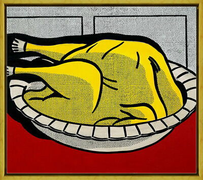 Roy Lichtenstein Still Goes On Giclee Canvas Print Paintings Poster Reproduction