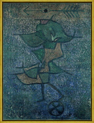 Framed Paul Klee Diana Giclee Canvas Print Paintings Poster Reproduction