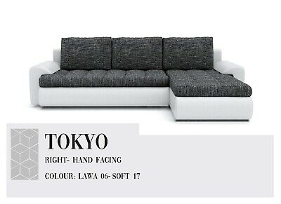 """Brand New Corner Sofa Bed """"TOKYO """" FREE DELIVERY"""