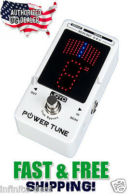 New JOYO JF-18R Power Tune Digital GUITAR Tuner Power Supply One Effects Pedal