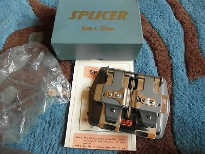 VINTAGE 8mm &16mm MOVIE FILM SPLICER
