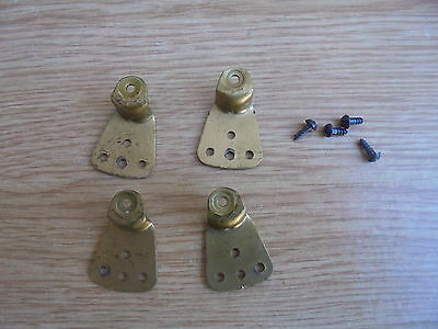 Clock Movement brass Legs Set of 4