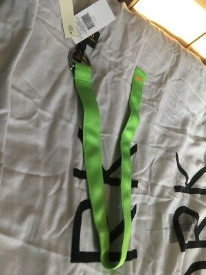 BNWT Ralph Lauren D-ring Nylon Web Belt Fluorescent Green Kids (xs)  £39 20-24""