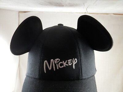 """Disney Mickey Mouse Ears Emroidered Mickey Baseball hat cap Youth 21"""" - 23"""""""